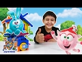 ЯРИК строит домик для КРОША СМЕШАРИКИ Распаковка игрушек Видео для детей