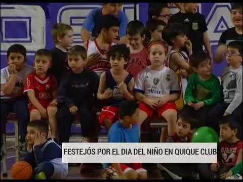 Festejos por el Día del Niño en Quique Club