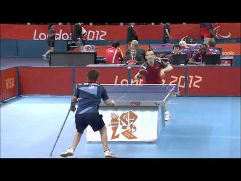 Diving Table Tennis Point By David Wetherill At Paralympic Games