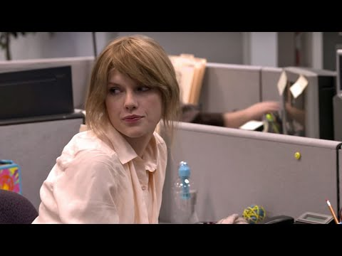 Taylor Swift 'The Office' Parody (Behind the Scenes of 'Ours' - Webisode 12)