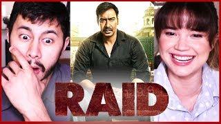 RAID   Ajay Devgn   Ileana D'Cruz   Trailer Reaction by Jaby & Achara!