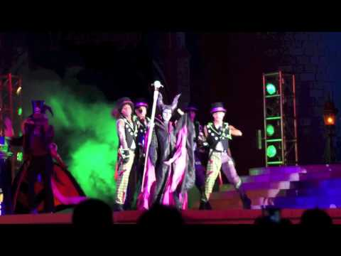 Villains' Dance Mix and Mingle 2012 from Mickey's Not So Scary Halloween Party at Disney World