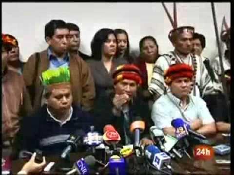 """Alán García dice que indígenas """"no son ciudadanos de primera"""" e insinúa culpas a Venezuela"""
