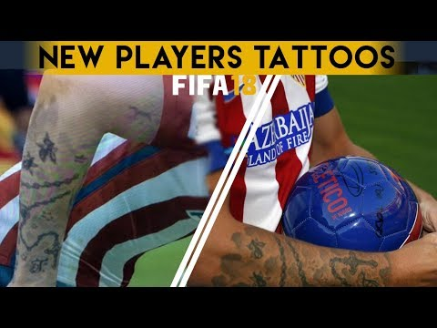 FIFA 18 - New Players Tattoos | Griezmann , Dybala & MORE - UCBsDKSasq2jzybVY8K54Cig