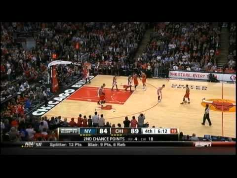 [3.12.12] Derrick Rose - 32 Points (7 Assists) Vs Knicks (Complete Highlights)