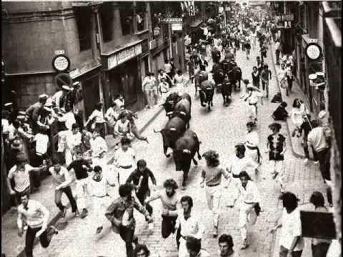 Historia de los encierros de San Fermín