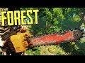 THE FOREST - НАШЁЛ БЕНЗОПИЛУ в ТЁМНОЙ ПЕЩЕРЕ!