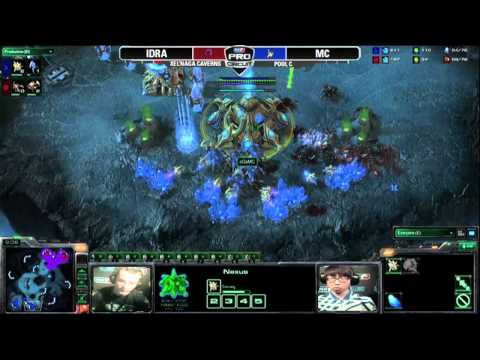 MLG Columbus 2011 Starcraft 2 - IdrA vs MC - Pool Play