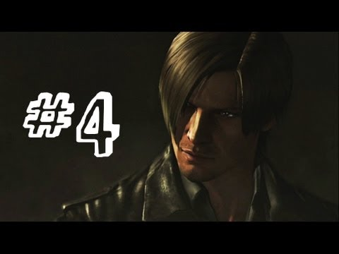 Resident Evil 6 Gameplay Walkthrough Part 4 - CATHEDRAL - Ada Wong Campaign Chapter 2 (RE6)