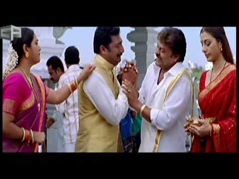 Prakash Raj and Chiranjeevi from Andarivaadu