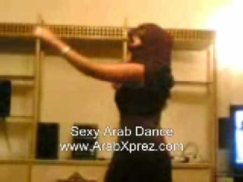 Arab Home Dance Face Covered