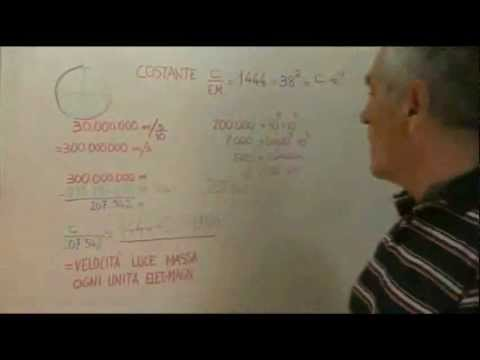 Lentezza della velocità ce Bosone di Higgs nel quanto di Amodeo.wmv