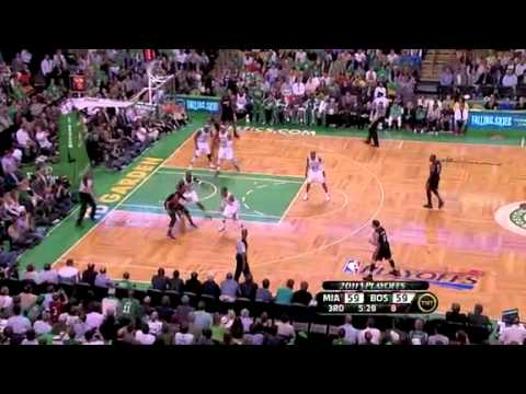 NBA Playoffs 2011: Miami Heat Vs Boston Celtics Game 4 OT Highlights (3-1)