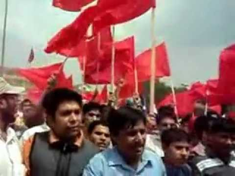 UCPN Maoist Mass Meet Student Rally