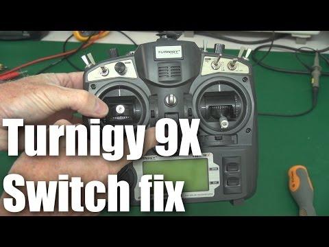 Turnigy 9x 24GHz radio TGY - Radio Control