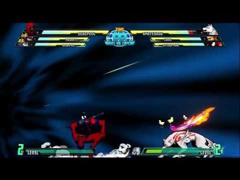 Marvel Vs Capcom 3 hyper Combos Deadpool HD 720p Xbox 360