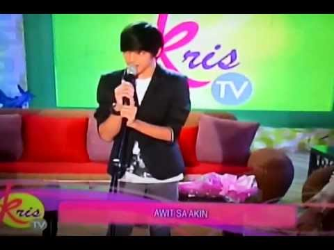 Daniel Padilla singing Hinahanap Hanap Kita