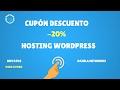 Cupón Descuento 20% Raiola Networks Hosting Wordpress #2017