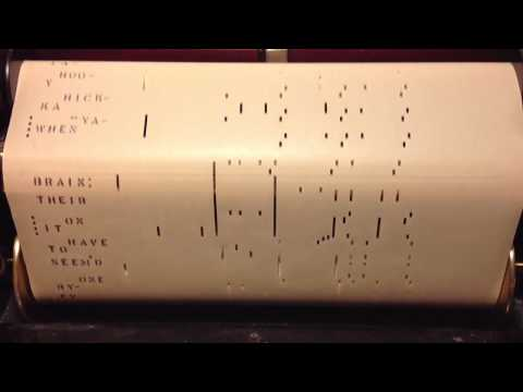 Ja Da, Ja Da, Jing Jing Jing by Bob Carleton 1918 Player Piano Roll