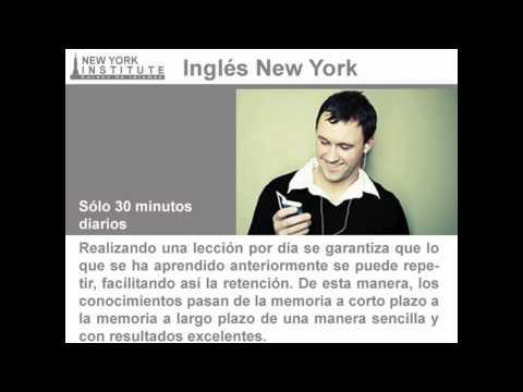 Inglés New York - Aprender inglés de manera fácil y rápida! (Audiocurso para principantes)