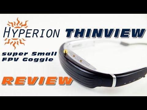 DutchRC - Hyperion ThinView - The smallest FPV Goggle? - REVIEW - UCNw7XWzFGn8SWSQvS7Q5yAg