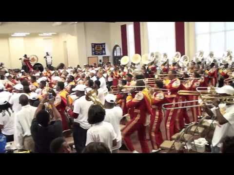 Tuskegee University Marching Crimson Pipers Ball and Parlay HC 2014