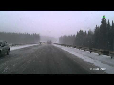 Аварии 7 марта Пермь-Краснокамск