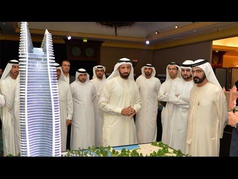 بالفيديو: اضخم مشاريع دبي حتى عام 2018 م
