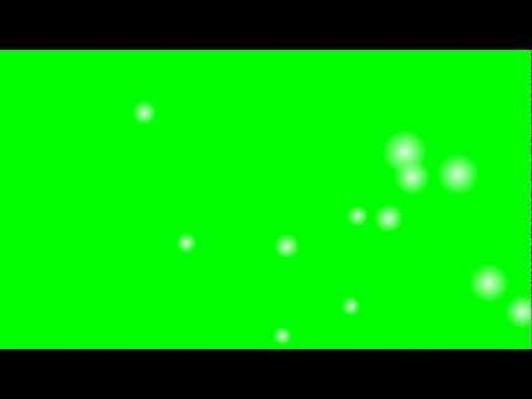 Green Screen Cartoon Snow Effect Royalty Free