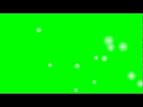 Green Screen Cartoon Snow Effect Royalty Free
