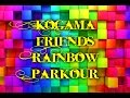 KoGaMa Friends Rainbow Parkour