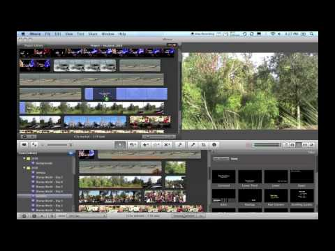 iMovie Basics: Importing, Editing, Burning Video and more!