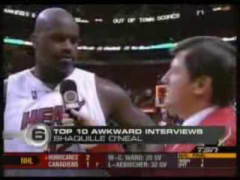 Top 10 Awkward Sports Interviews ESPN