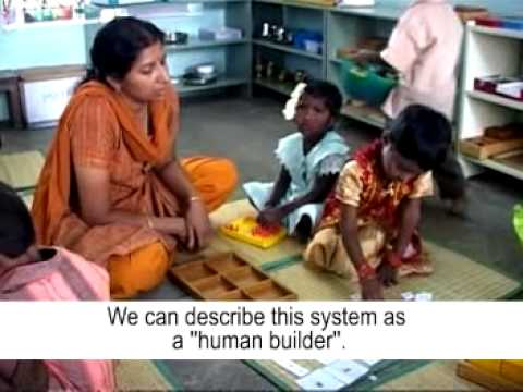 Montessori Method at Chennai ( with English subtitles )