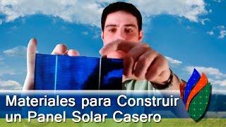 Materiales para Panel Solar 01