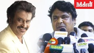 Mansoor Ali Khan controversial talk about Rajinikanth Kollywood News 03-12-2016 online Mansoor Ali Khan controversial talk about Rajinikanth Red Pix TV Kollywood News