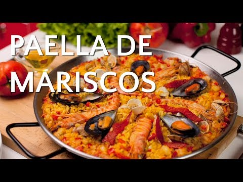 Paella de Marisco - Receta Arroz Brillante - UCtjpgi5eQNU7RJV0BYIuflw