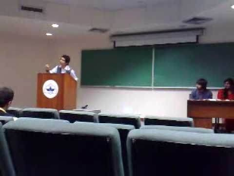 NADEH'S HILARIOUS URDU DEBATE AT LUMS