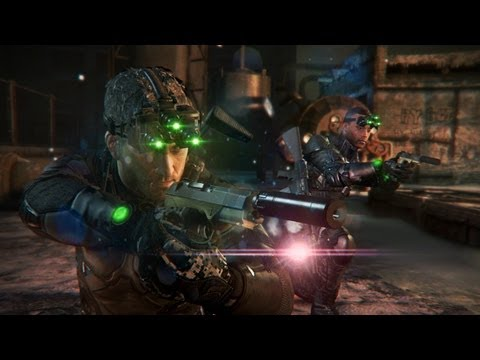 Interesante modo cooperativo de Splinter Cell: Blacklist