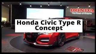 Genewa 2014 - Honda Civic Type R Concept - krótka prezentacja