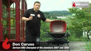 Weber Elektrogrill Erstbenutzung : Weber grill q elektrogrill youtube
