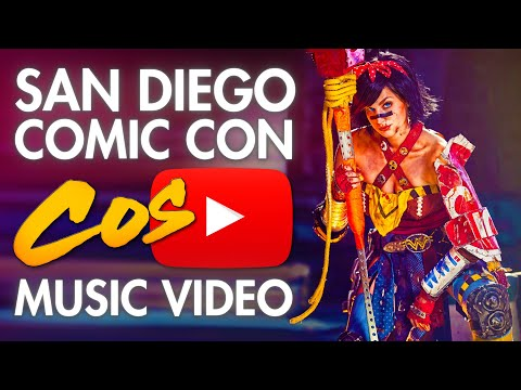 Cosplay - San Diego Comic Con - SDCC - Cosplay Music Video - 2013
