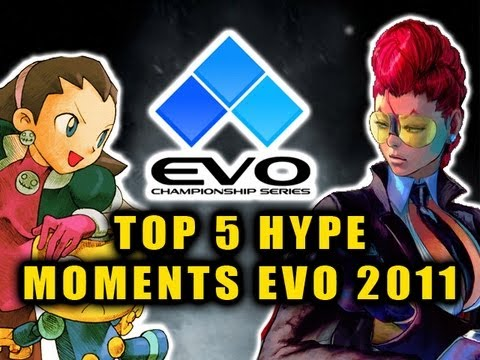 EVOLUTION 2011 - TOP 5 HYPE MOMENTS by Maximilian (Evo 2011 highlights/commentary)