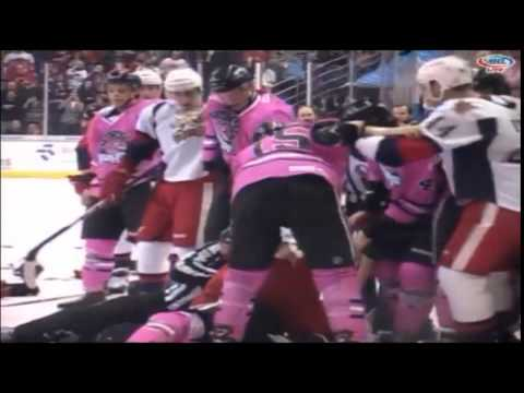 Thumbnail image for 'VIDEO : Ice Hogs and Griffins brawl in Rockford'