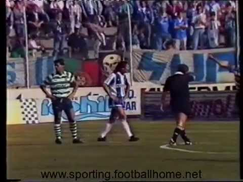 38J :: Porto - 3 x Sporting - 0 de 1988/1989
