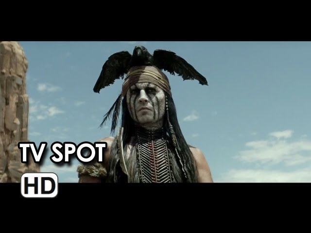 The Lone Ranger TV SPOT - American Legend (2013) - Johnny Depp Movie HD