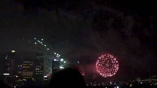 Pre: Fireworks New Years Eve: Sydney 9 pm 2009