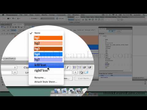 Dreamweaver CS5.5 lessons tutorials how to design build create webpage sites jquery mobile apps