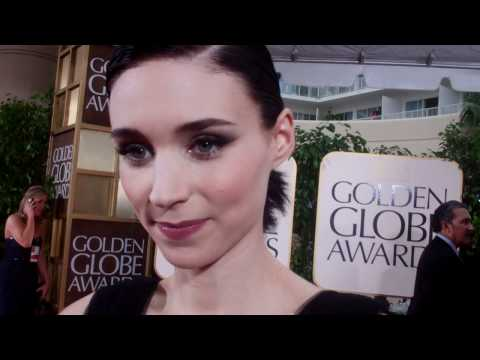 Rooney Mara at the 2012 Golden Globes