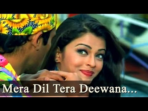 Mera Dil Tera Deewana - Aishwarya Rai - Aa Ab Laut Chalen Songs - Alka Yagnik